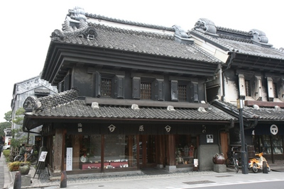 Streets of Kawagoe - older style buildings