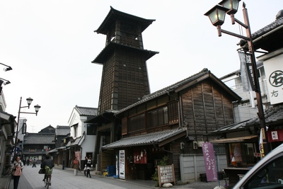 Bell tower in Kawagoe