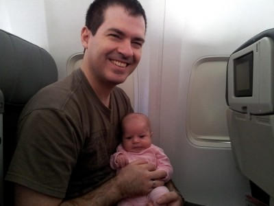 Emmas first flight